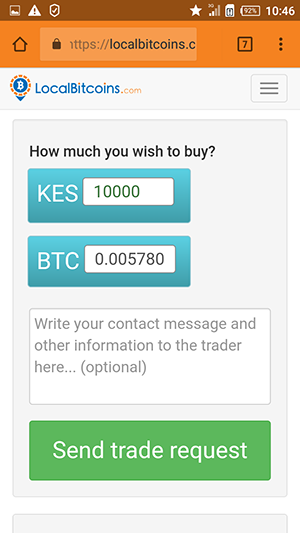 How to buy Bitcoin with MPesa in Kenya